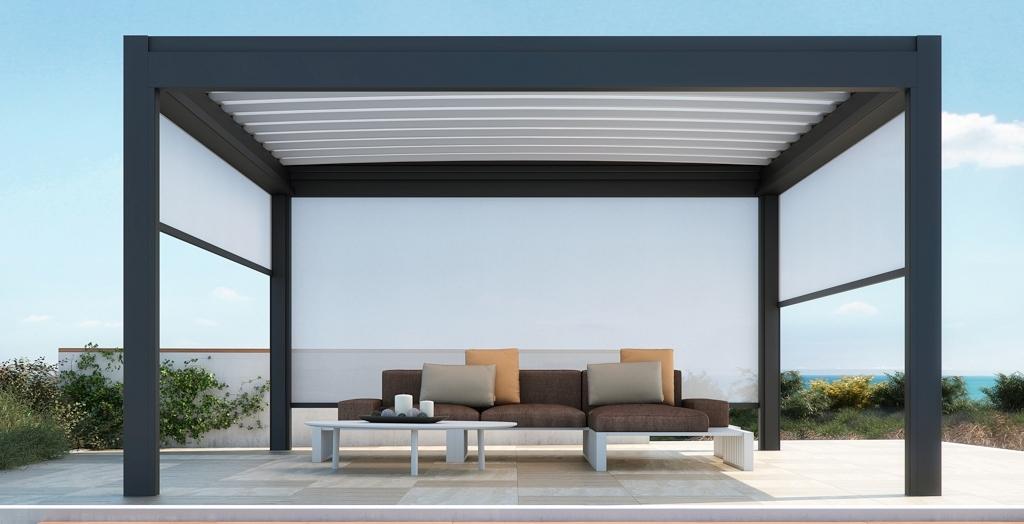 Phoenix e Zen sono le nuove struttura autoportante interamente in alluminio  con copertura ad impacchettamento. Phoenix è realizzata con telo teso e  consente ... f1959c6c9ec4
